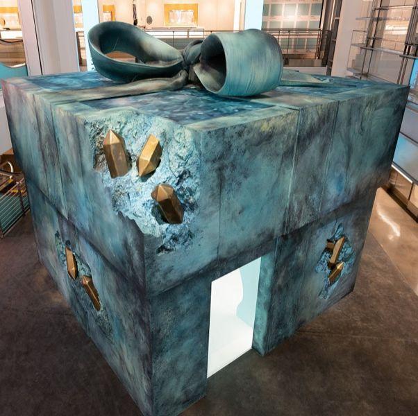 tiffany小藍盒被腐蝕