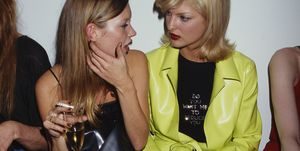 Linda Evangelista And Kate Moss