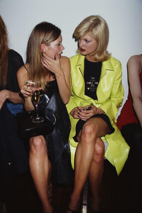 Linda Evangelista And Kate Moss