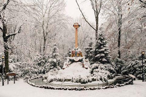 uitjes met de feestdagen winter efteling