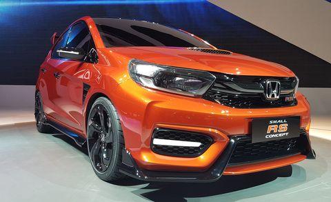 Land vehicle, Vehicle, Car, Auto show, Motor vehicle, Honda, Subcompact car, Mini SUV, Automotive design, Compact car,