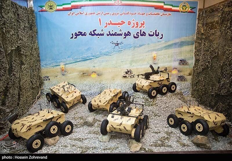 Iran Unveils New Tank-Killing Ground Drones