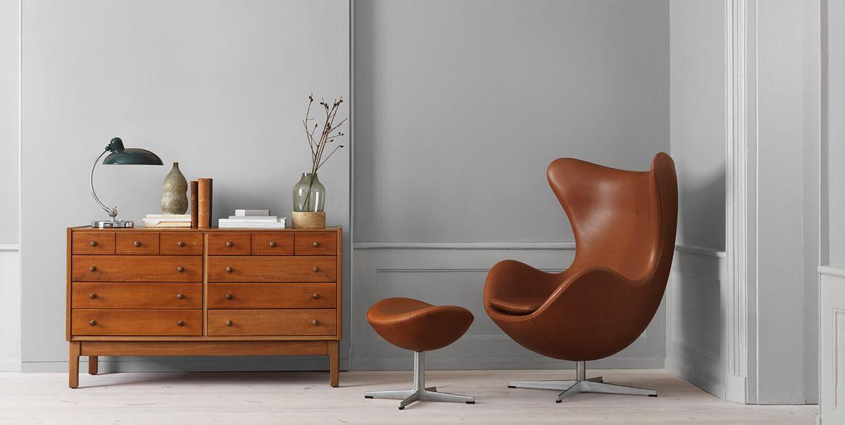 Egg Chair Di Arne Jacobsen: La Poltrona A Forma Di Uovo