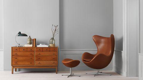 Poltrona Egg Originale Prezzo.Egg Chair Di Arne Jacobsen La Poltrona A Forma Di Uovo