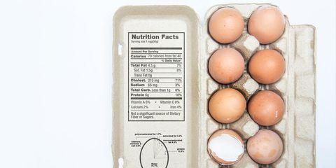 how to read an egg carton