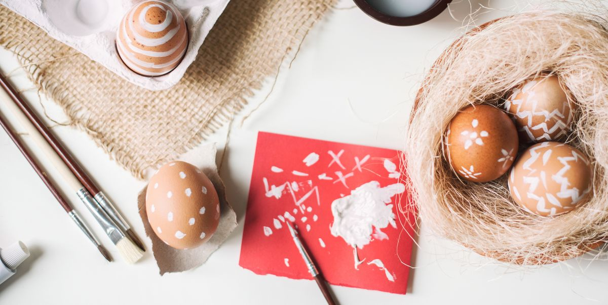 These Genius Egg Painting Ideas Make for Beautiful Easter Decorations