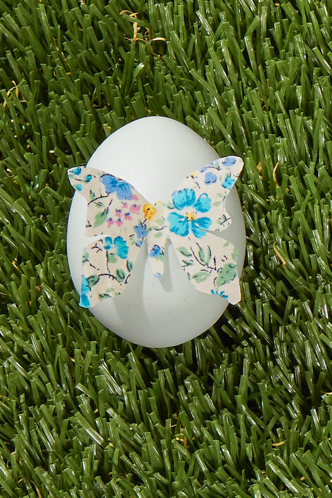 egg painting 3d butterfly