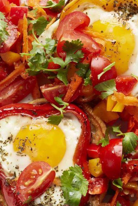 best Lenten recipes - egg pepper rings