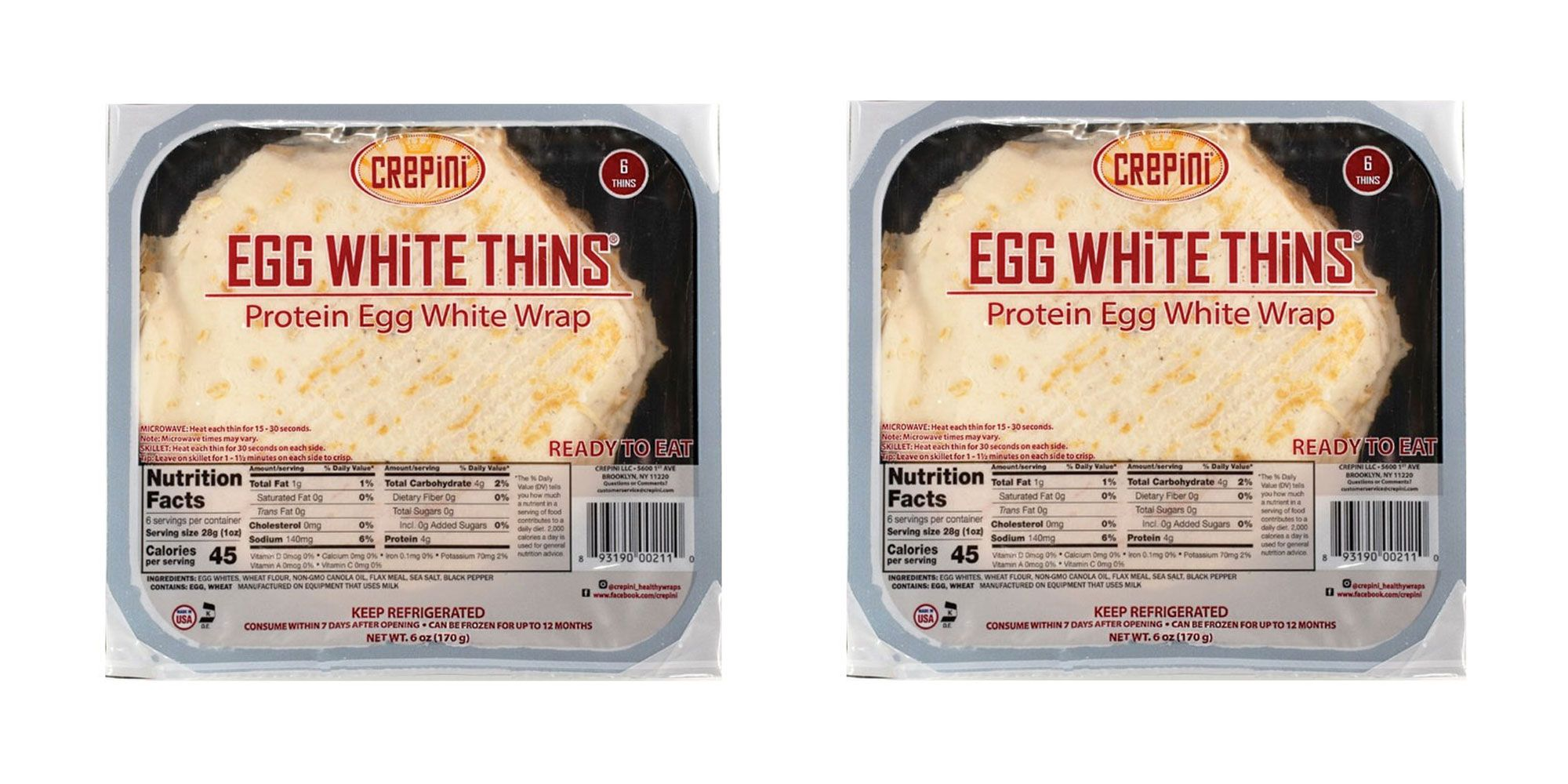 Who Needs Tortillas When These Low-Carb Egg White Wraps Exist?