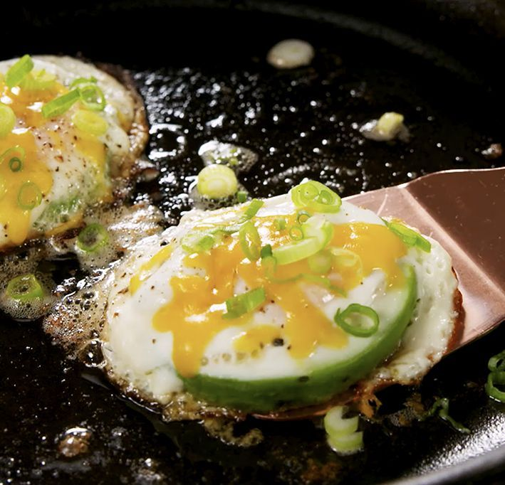 Best Avocado Egg In A Hole Recipe How To Make Avocado