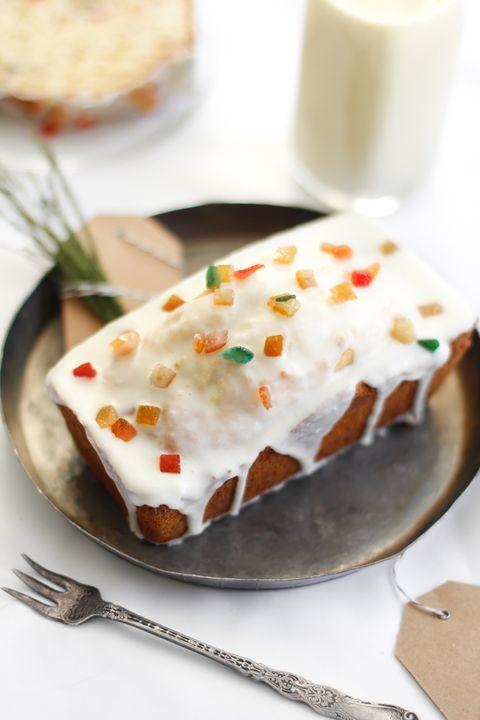 christmas eggnog fruit cake recipe