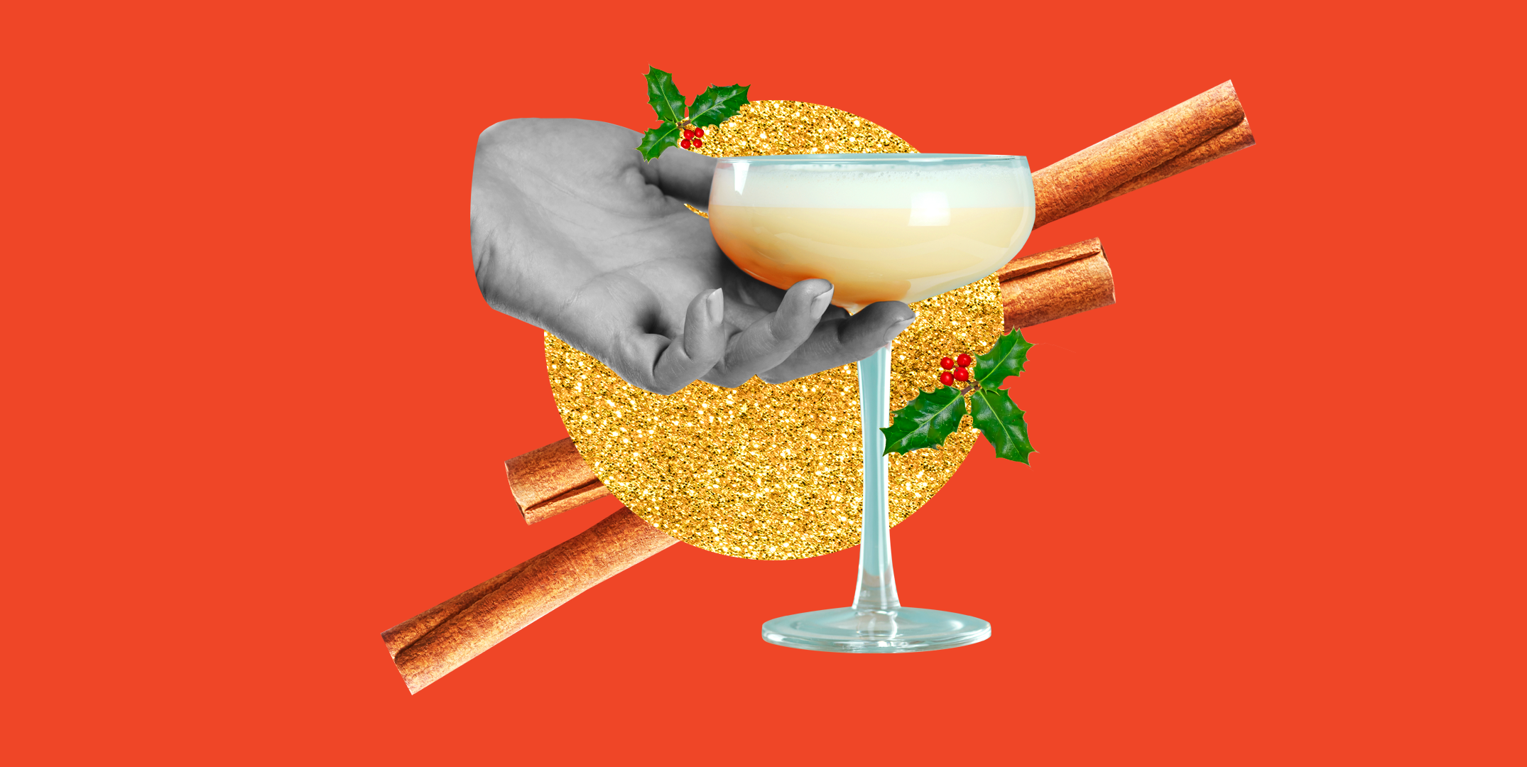 These 9 Spiked Eggnog Cocktails Will Make Any Holiday Gathering Less Weird