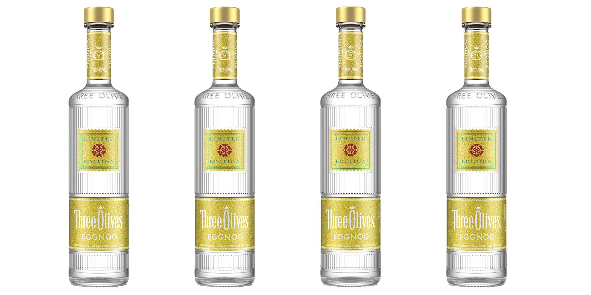 Three Olives Make An Eggnog Vodka For