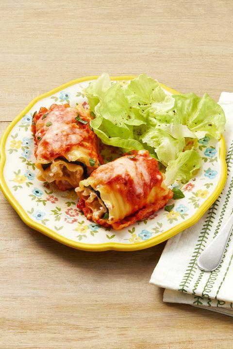 eggplant lasagna rollups