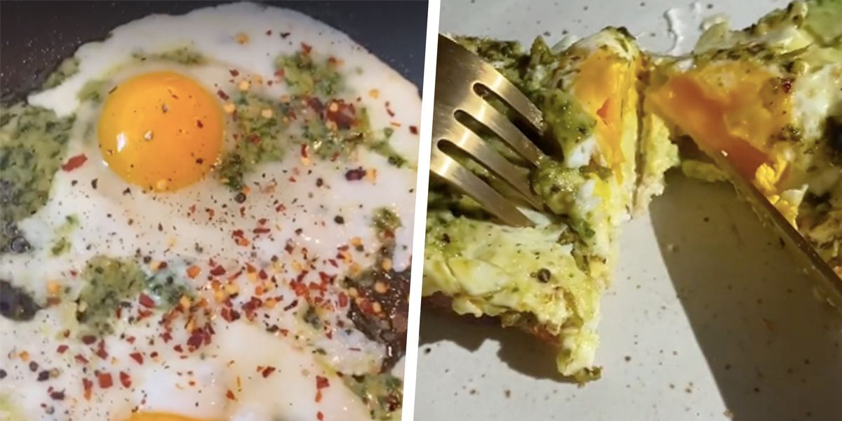 Pesto Eggs Are the Breakfast Everyone's Talking About on TikTok