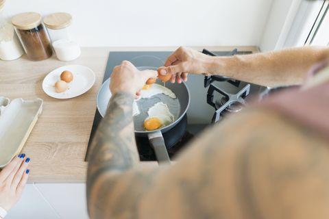高熱量的食物最好出現在早餐