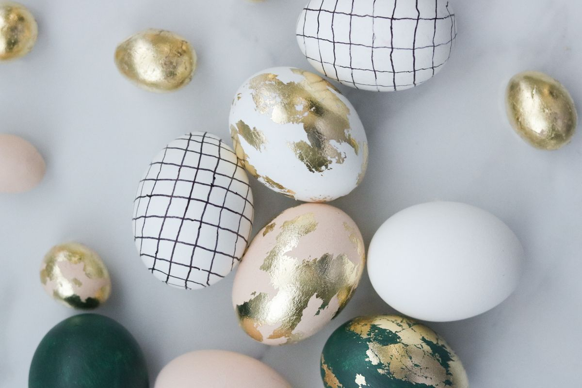 50 Chic Easter Egg Designs Creative Easter Egg Ideas