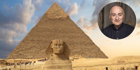 You can now uncover ancient Egypt on holiday with Sir Tony Robinson