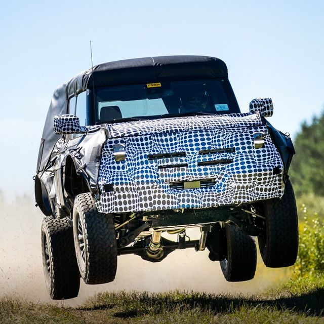 ford suv in testing