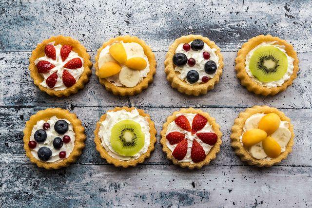 dolci con la frutta
