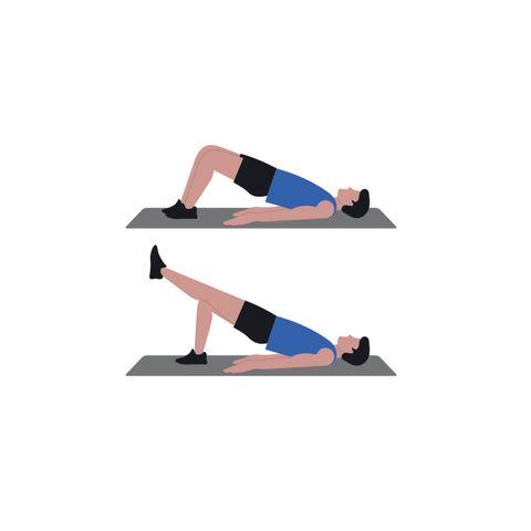 ejercicios, fortalecer, isquiotibiales