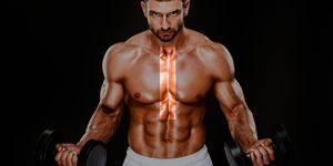 ejercicio linea media pectoral