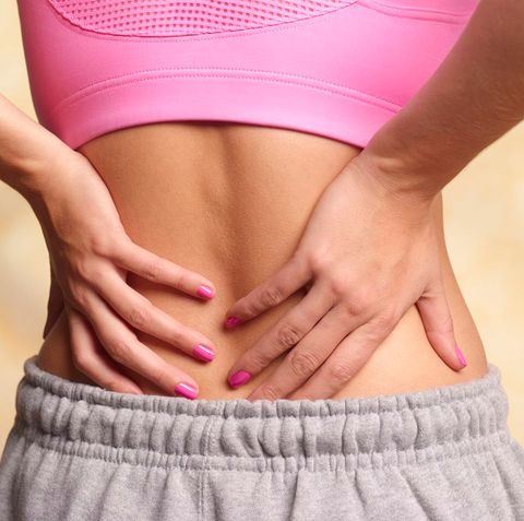 Ejercicios estiramiento zona baja espalda