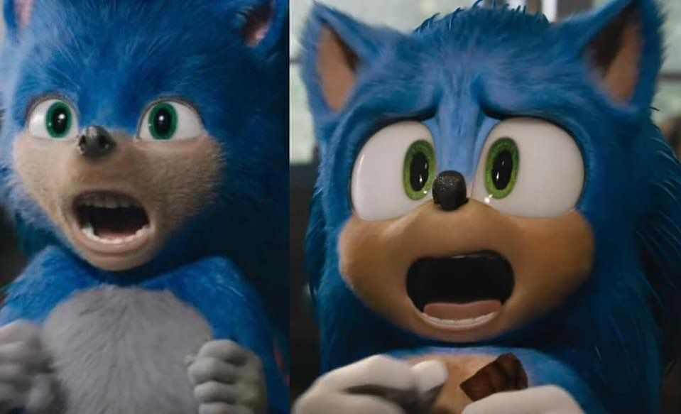 Sonic The Hedgehog Got A New Design See Before And After Pics