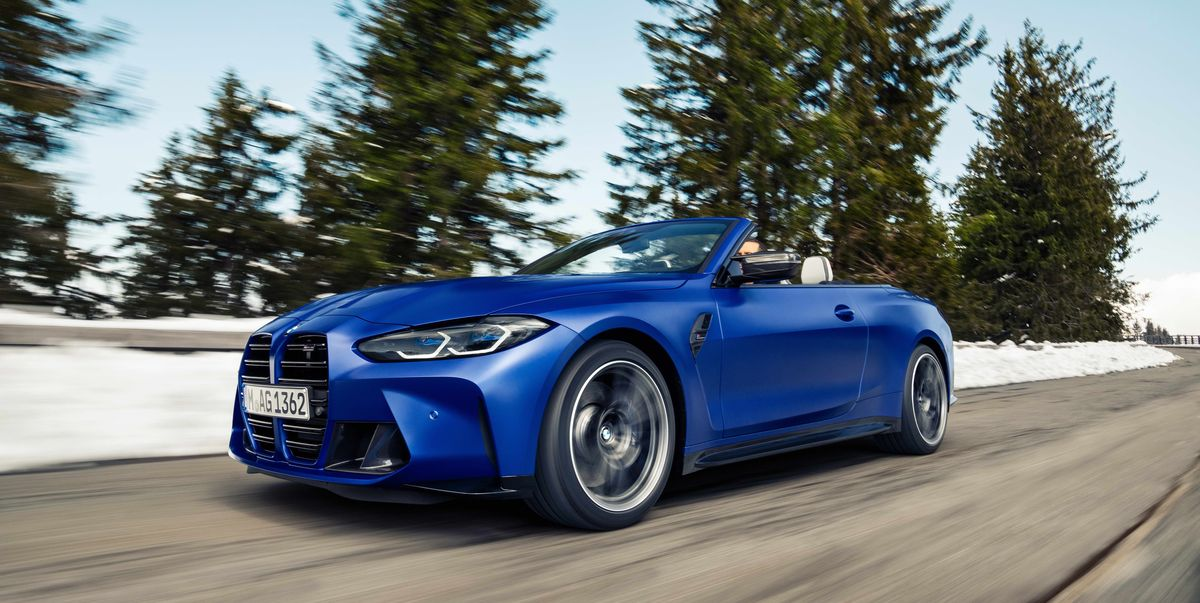 2022 BMW M4 Competition Convertible xDrive Is Fabric-Topped and Faster