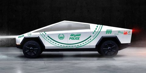 Dubai Police Order Tesla Cybertruck To Add To Already Impressive Fleet