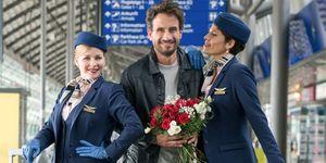 El amor esta en el aire (Love is in the air), protagonizada por Jasmin Gerat, Oliver Mommsen y Jasmin Schwiers