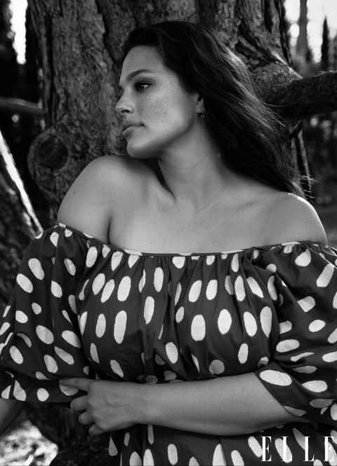 ashley graham black and white
