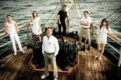 la serie el barco