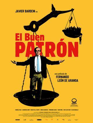 """cartel de """"el buen patrón"""""""