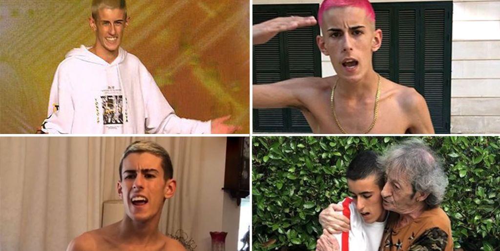 El Cejas, de petarlo en YouTube e Instagram a triunfar en Got Talent