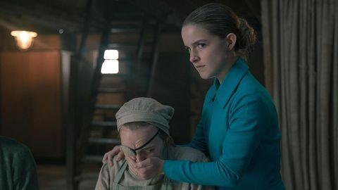 McKenna Grace in Season 4 of The Handmaid's Tale