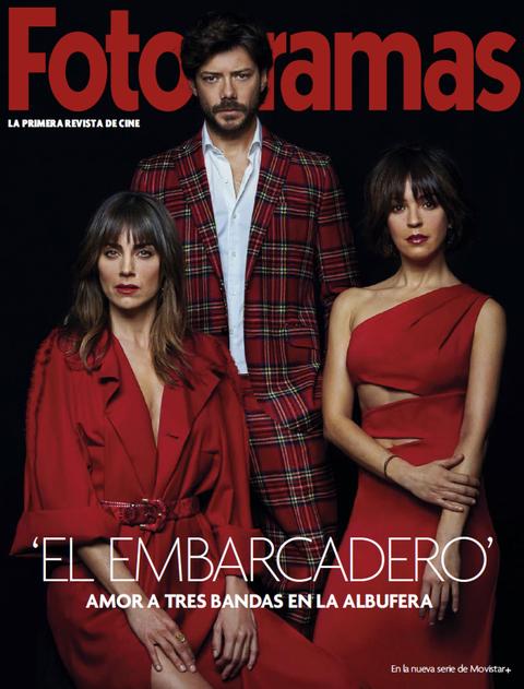 Irene Arcos, Álvaro Morte y Verónica Sánchez en 'El embarcadero'
