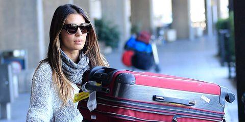 Elena Tablada y su exceso de equipaje