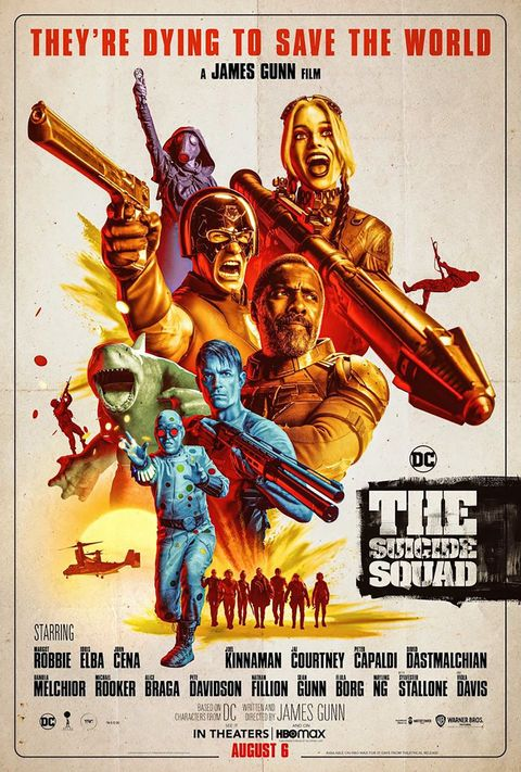 poster the suicide squad, the suicide squad, by james gunn