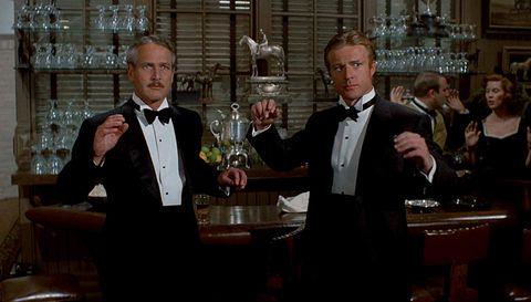 El golpe (1973) Robert Redford y Paul Newman