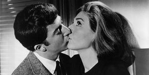Dustin Hoffman And Ann Bancroft In 'The Graduate'