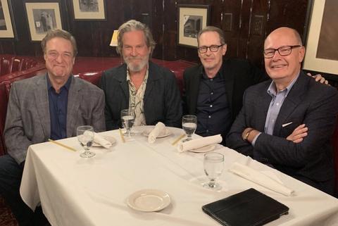 El equipo de 'El gran Lebowski', reunido 20 años después