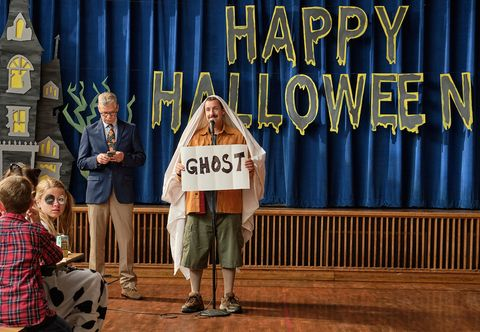 una escena de la película el halloween de hubbie