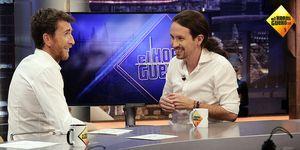 Pablo Iglesias visita 'El hormiguero'