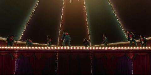el juego del calamar quinto juego puente de cristal
