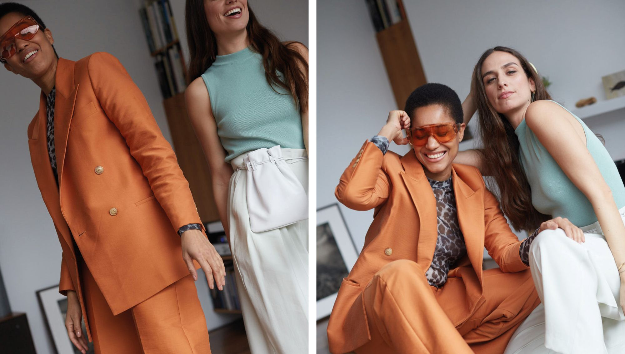 How Two Best Friends Style SS19's Biggest Trends