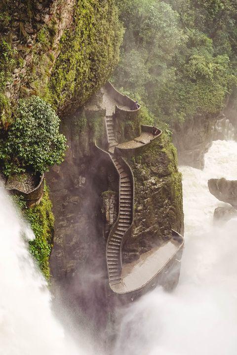Эль-Пайлон-дель-Диабло - Баньос, Эквадор