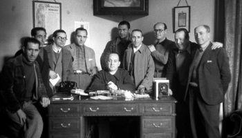 """Los protagonistas del documental""""El proceso de Burgos"""""""