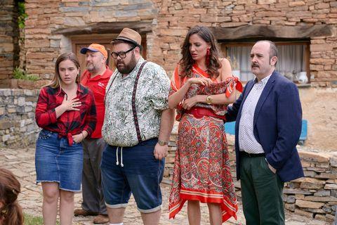 el estreno de la temporada 2 de la serie de 'el pueblo'