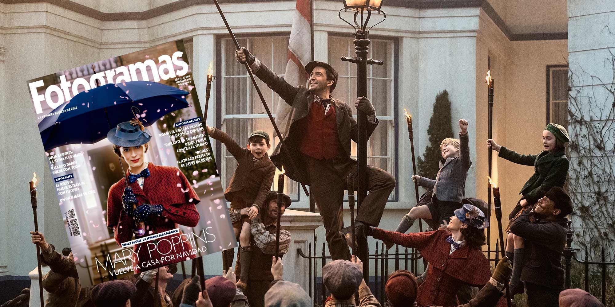 Emily Blunt en 'El regreso de Mary Poppins'